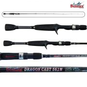 Vara para carretilha Sumax Dragon Cast 6'6