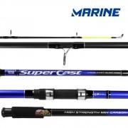 Vara para molinete Marine Sports Super Cast 3,60m - SC-3603 - 03 Partes