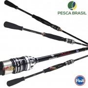 Vara para molinete Pesca Brasil Durendal 25M - 6'0