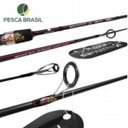Vara para molinete Pesca Brasil Millenium Impacto GII 25M Spinning - 6'0