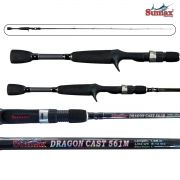 "Vara para carretilha Sumax Dragon Cast 5'6"" (1,68m) 12 Lbs - SDG-561ML"