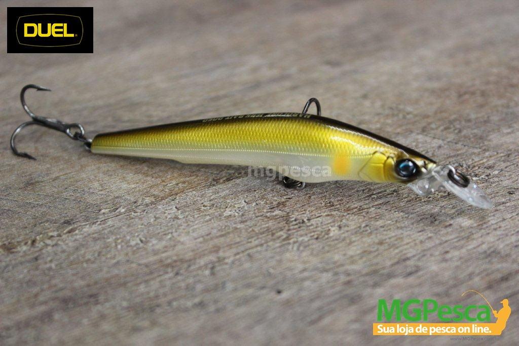 Isca Artificial Duel Hardcore Jerkbait 90 SP - F967  - MGPesca
