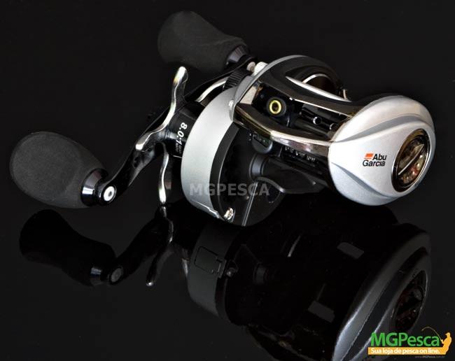 Carretilha Abu Garcia Revo 3 STX - RVO3STX-SHS 8.0:1  - MGPesca