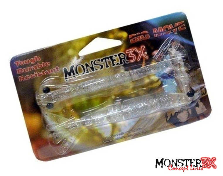 Isca Artificial Monster 3X Camarão Big Move 140 - 14cm - MGPesca