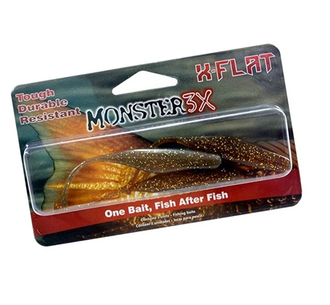 Isca Artificial Monster 3X X-Flat - 12cm  - MGPesca