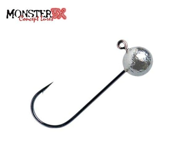 Anzol Jig Head Monster 3X X-Hook - Embalagem C/ 02 unidades  - MGPesca