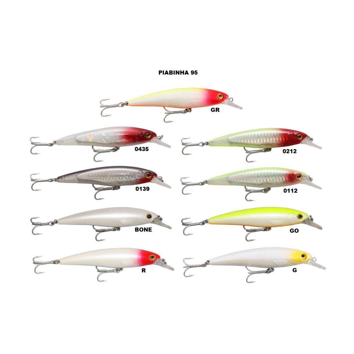 Isca Artificial Arsenal da Pesca - Piabinha 95  - MGPesca