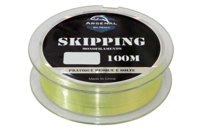Linha Skipping - Monofilamento - Arsenal da Pesca - 100m  - MGPesca