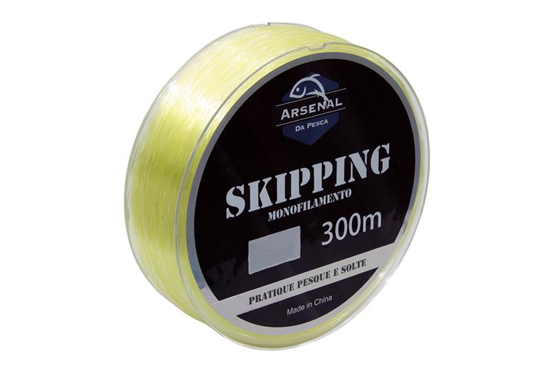 Linha Skipping - Monofilamento - Arsenal da Pesca - 300m  - MGPesca