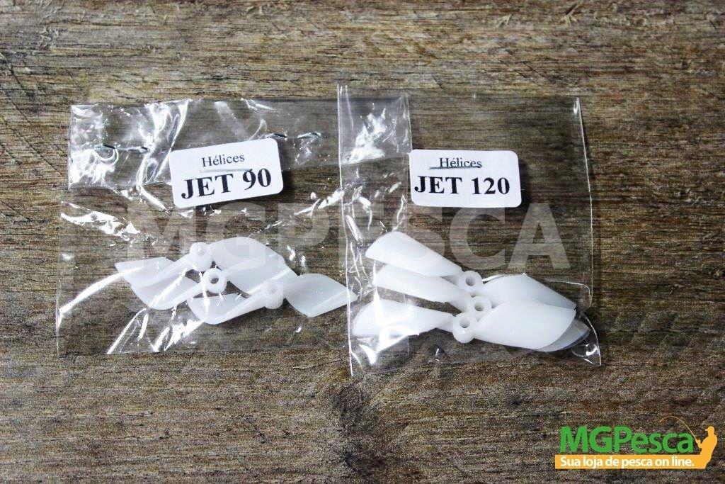 Kit de Hélices para reposição ou adaptação - Original da Nakamura JET 90 e 120  - MGPesca