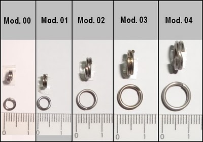 Argola Split Ring 4x Strong - Glico Snap  - MGPesca