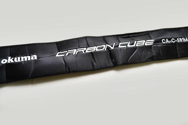 Vara para carretilha Okuma Carbon Cube 5
