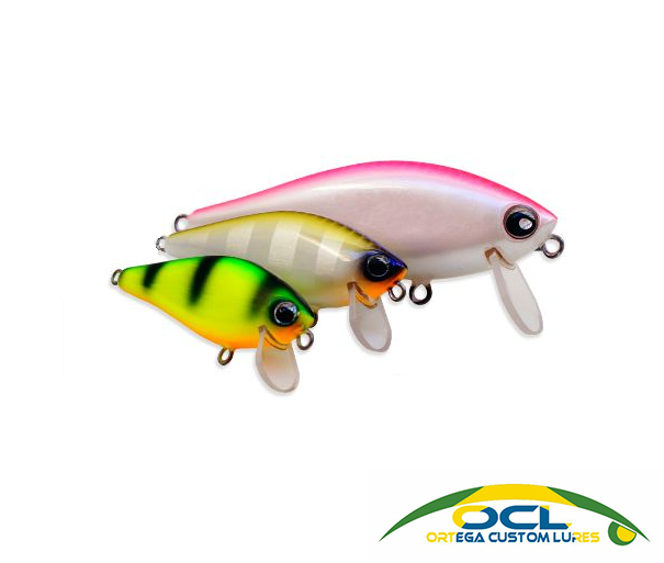 Isca Artificial OCL Lures Letal Shad 60  - MGPesca