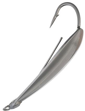 Isca Artificial Johnson Colher Silver Minnow Antienrosco (Dourada, Prata e Preta)  - MGPesca