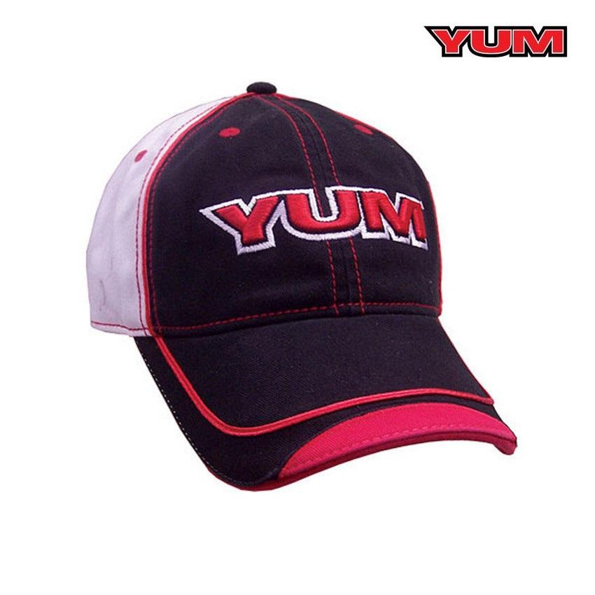 Boné YUM HAT - Preto e Branco  - MGPesca