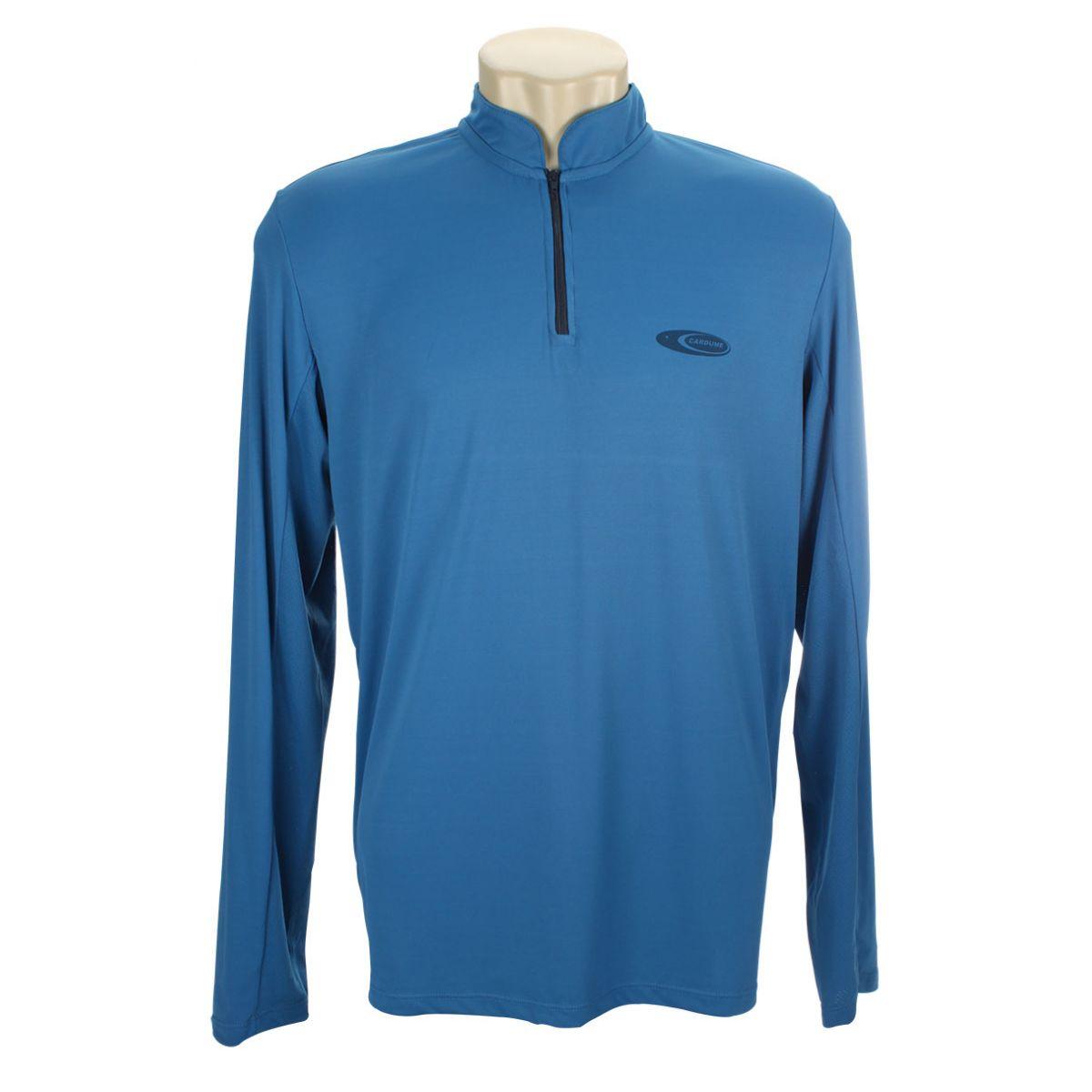 Camiseta Cardume Fisherman 50+FPS - Azul ou Areia  - MGPesca