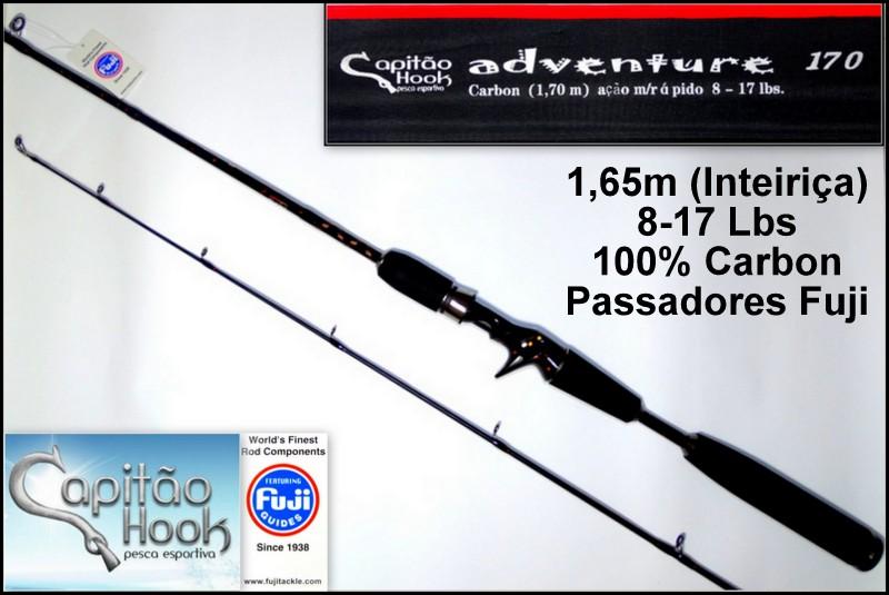 Vara para carretilha Capitão Hook Adventure 170 - 5