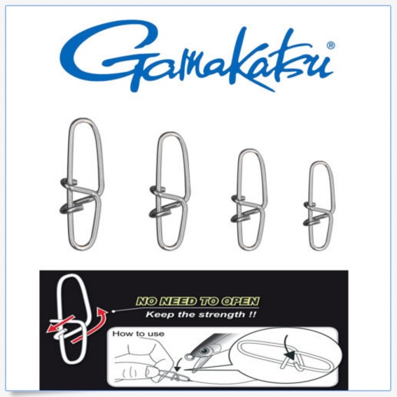 Snap Gamakatsu Onsoku Power Snap - Engate Rápido  - MGPesca