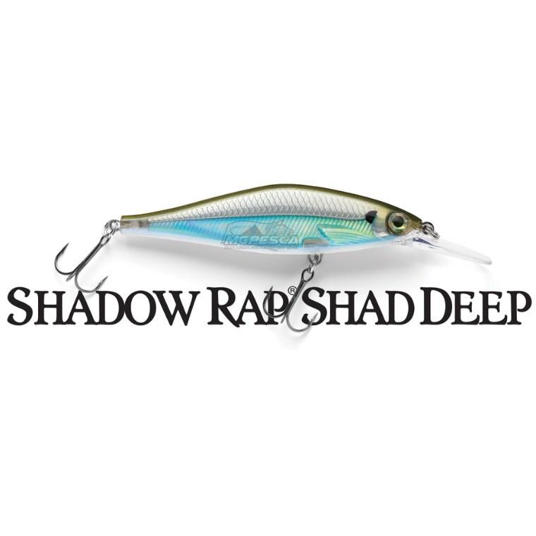 Isca Artificial Rapala Shadow Rap Shad Deep SDRSD09 Jerkbait  - MGPesca