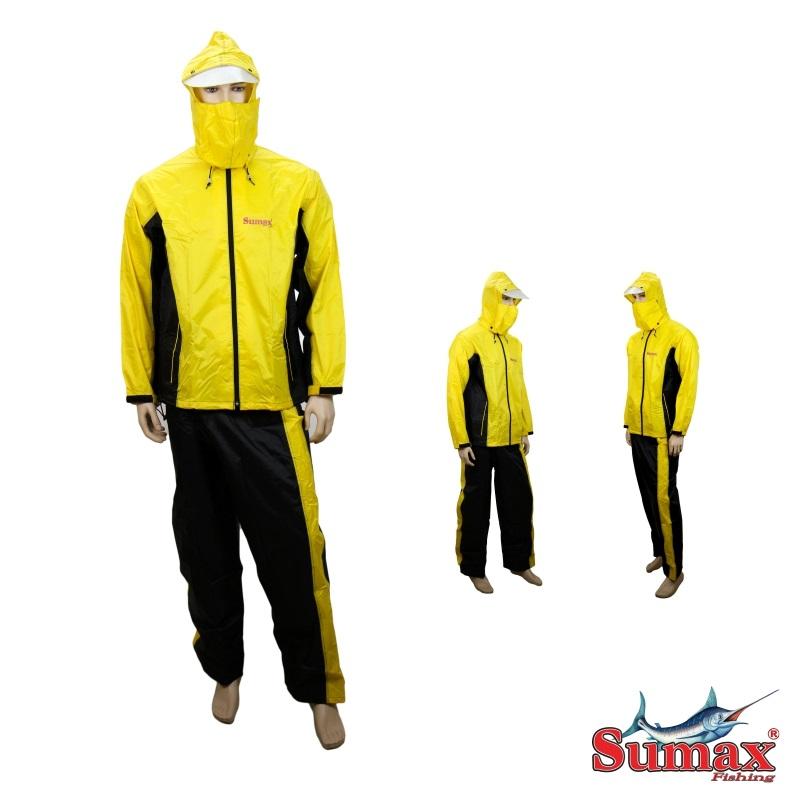 Capa de Chuva Sumax - Amarelo e Preto - DC15