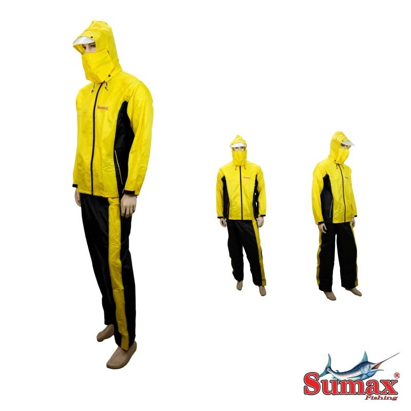Capa de Chuva Sumax - Amarelo e Preto - DC15  - MGPesca