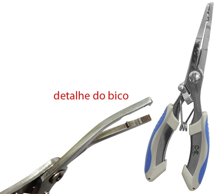 Alicate Maruri Bico Curvo Split Ring F-16  - MGPesca