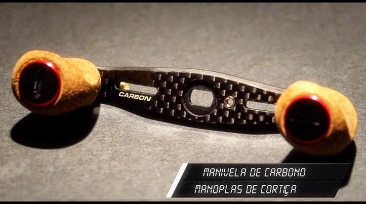 Manivela de carbono - Original do modelo Venator GTS  - MGPesca