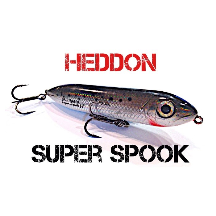 Isca Artificial Heddon Super Spook Jr. X9236  - MGPesca