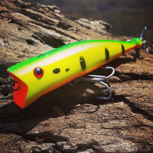 Isca Artificial Borboleta Stick Popper  - MGPesca