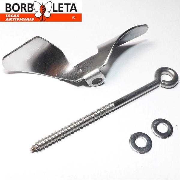 Kit de Hélice + Pitão Borboleta - Para reposição ou adaptação  - MGPesca