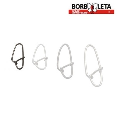 Snap Borboleta - Aço Inox  - MGPesca