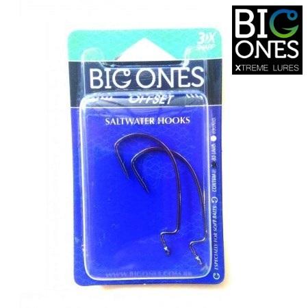 Anzol Big Ones EWG OffSet - Embalagem com 02 unidades  - MGPesca