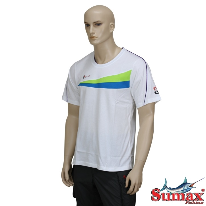 Camiseta Casual Sumax Algodão S-0249  - MGPesca