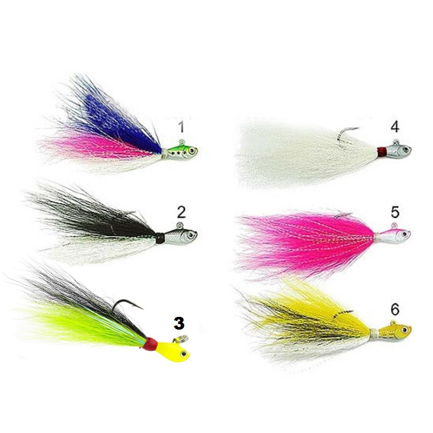Isca Artificial Marine Sports Streamer Jig By JH - 10g  - MGPesca