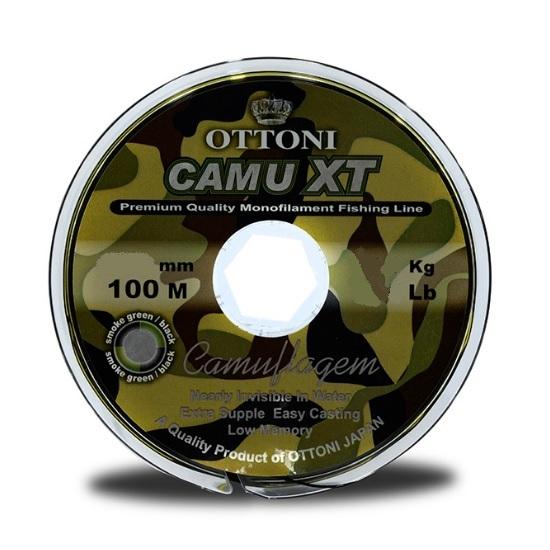 Linha Ottoni Camu XT 100m   - MGPesca