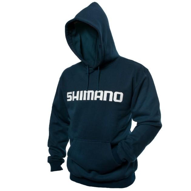 Moletom Hoodie Shimano com Capuz - Azul  - MGPesca