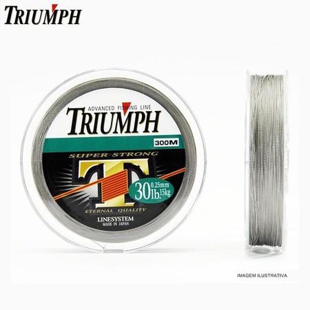 Linha Multifilamento Triumph Super Strong PE 300m  - MGPesca