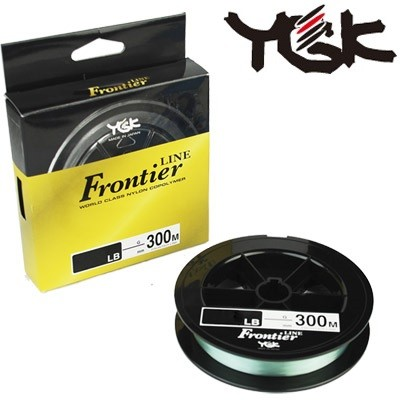Linha Monofilamento YGK Frontier Line 300m  - MGPesca