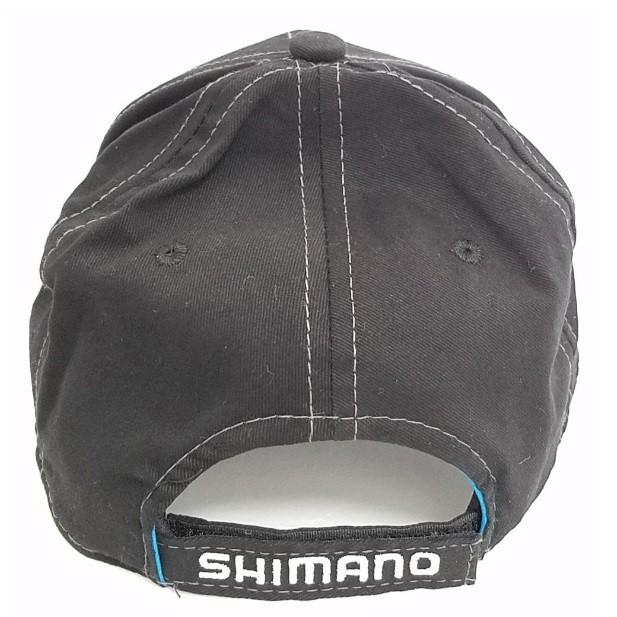 Boné Shimano AHAT200BK - Preto  - MGPesca
