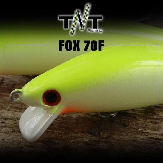 Isca Artificial TNT Fishing Fox 70F  - MGPesca