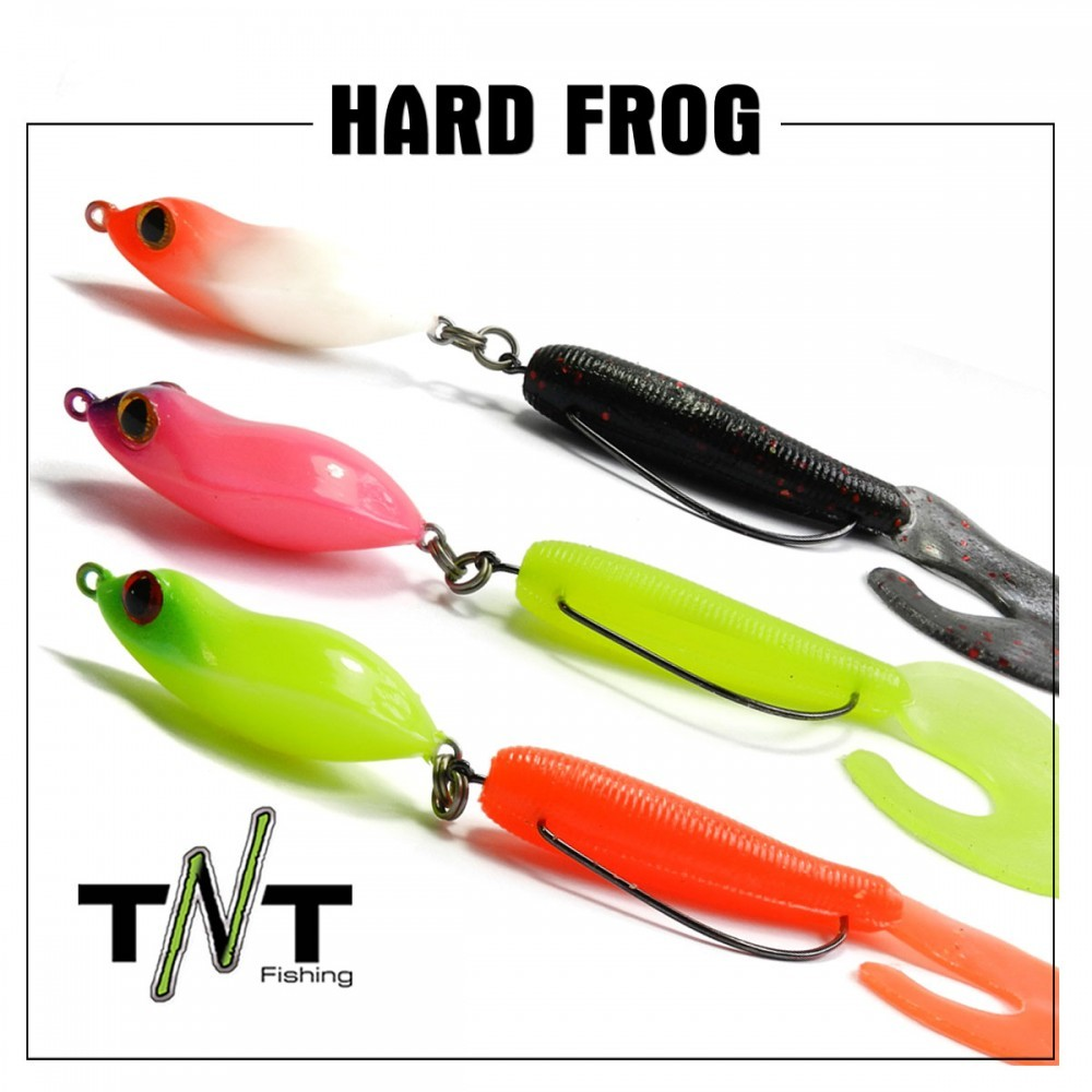Isca Artificial TNT Fishing Hard Frog  - MGPesca