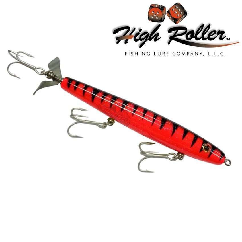 """Isca Artificial High Roller Rip Roller 6.25"""" Slim  - MGPesca"""