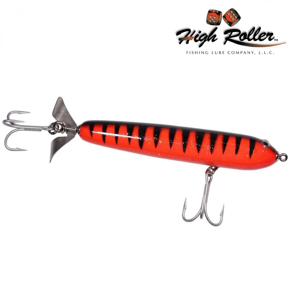 "Isca Artificial High Roller Rip Roller 5.25""  - MGPesca"