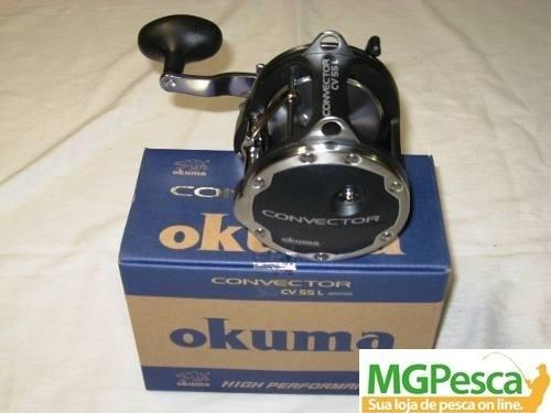 Carretilha Okuma Convector CV55L - Manivela Direita  - MGPesca