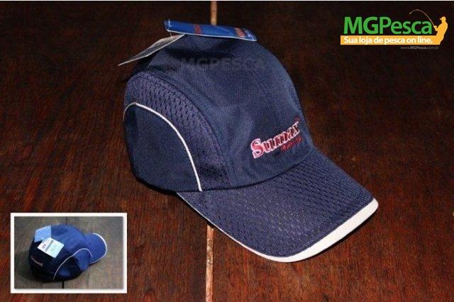 Boné Sumax SB-1305 com proteção UV - Azul  - MGPesca
