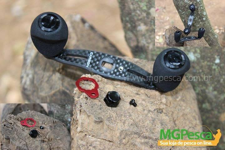 Manivela de carbono - Original do modelo Black Widow  - MGPesca
