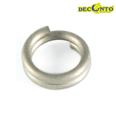 Argola  Split Ring Deconto - Pacote com 20 unidades