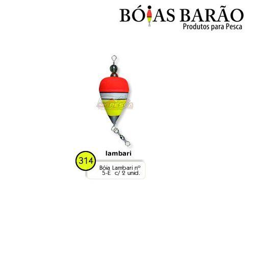 Boia Barão Lambari Nº 5-E - 02 unidades Nº 314