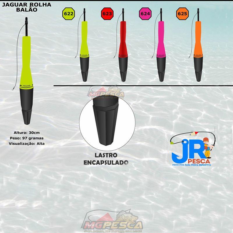 Boia Cevadeira JR Pesca New Jaguar Rolha Torpedo Ecológica