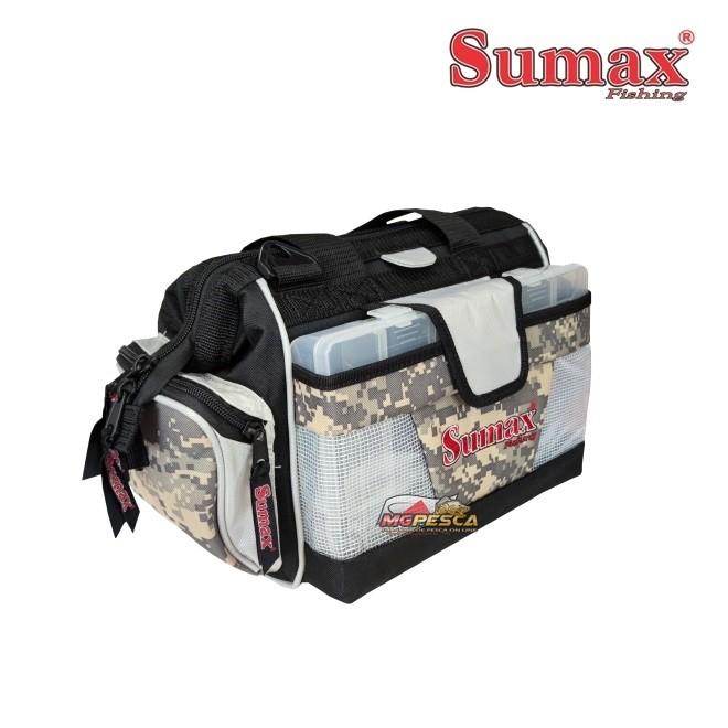 Bolsa de Pesca Sumax SM-912-CA - Camuflado